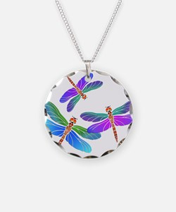 Funny Dragonfly Necklace