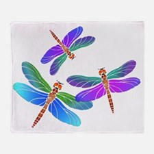 Unique Dragonfly Throw Blanket