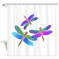 Unique Bugs Shower Curtain