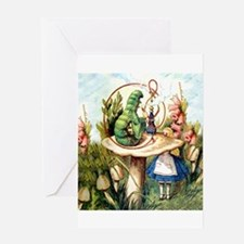 Cool Alice in wonderland Greeting Card