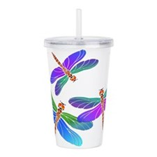 Funny Fly Acrylic Double-wall Tumbler