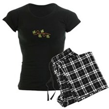 4 Leaf Clover Border Pajamas
