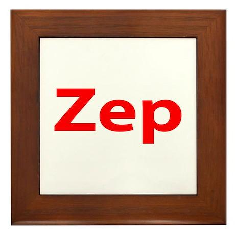 """Zep"" Framed Tile"