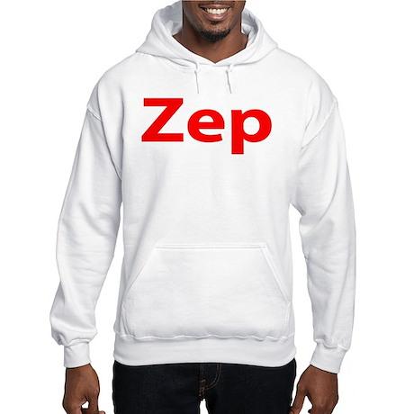 """""""Zep"""" Hooded Sweatshirt"""