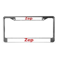 """Zep"" License Plate Frame"