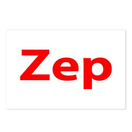 """Zep"" Postcards (Package of 8)"