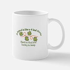 Lucky to Keep Mugs