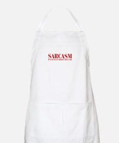 SARCASM-JUST-MY-WAY-BOD-RED Apron