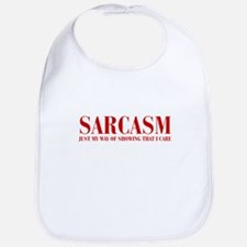SARCASM-JUST-MY-WAY-BOD-RED Bib