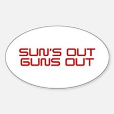 SUNS-OUT-GUNS-OUT-SAV-RED Decal