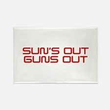 SUNS-OUT-GUNS-OUT-SAV-RED Magnets