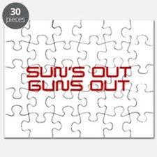 SUNS-OUT-GUNS-OUT-SAV-RED Puzzle