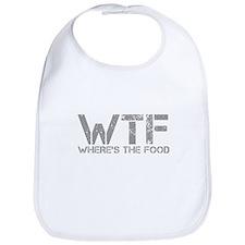 WHERES-THE-FOOD-CAP-GRAY Bib