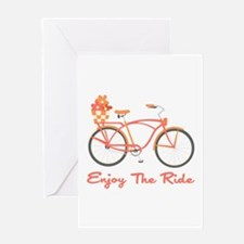 Enjoy The Ride Greeting Cards