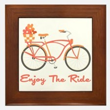 Enjoy The Ride Framed Tile