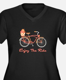 Enjoy The Ride Plus Size T-Shirt