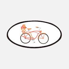 Pink Cruiser Bike Patches
