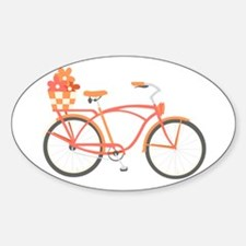 Pink Cruiser Bike Decal