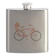 Pink Cruiser Bike Flask