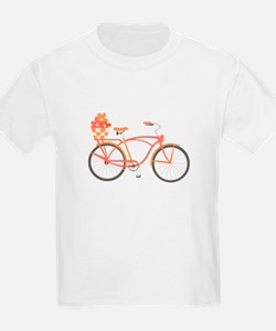 Pink Cruiser Bike T-Shirt