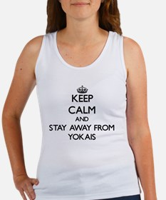 Keep calm and stay away from Yokais Tank Top