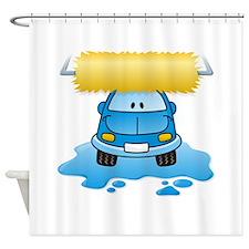 Cute Splash Shower Curtain
