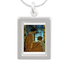 This Simple Faith has ma Silver Portrait Necklace