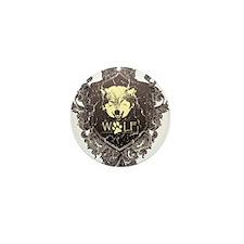 Cute Werewolf Mini Button
