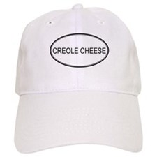 CREOLE CHEESE (oval) Baseball Cap