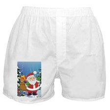 Cute santa claus Boxer Shorts