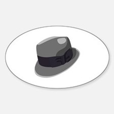 Mans Hat Decal