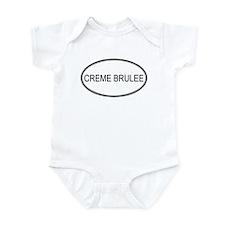CREME BRULEE (oval) Infant Bodysuit
