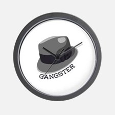 Gangster Wall Clock