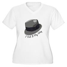 I Did It My Way Plus Size T-Shirt