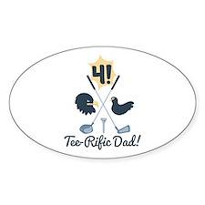 Tee Rific Dad! Decal