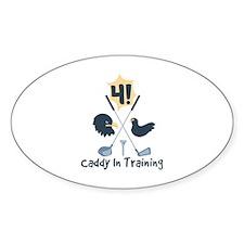 Caddy In Training Decal