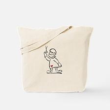 Surgeon Outline Tote Bag