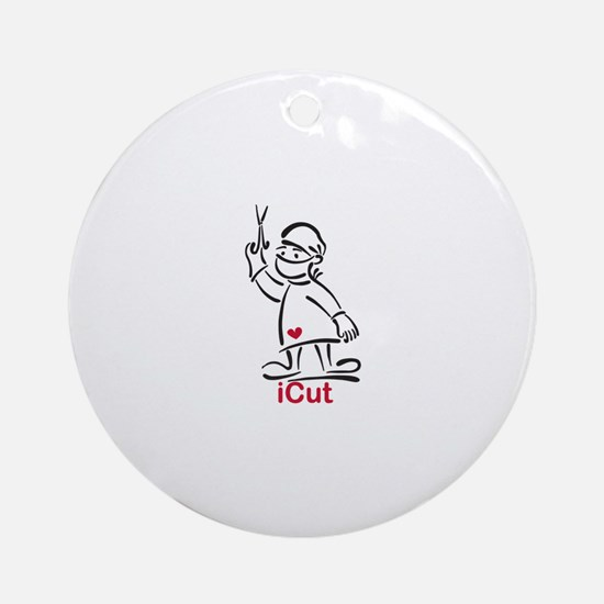 iCut Ornament (Round)