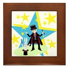 Cute Wand Framed Tile