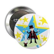 """Cute Magic wand 2.25"""" Button (100 pack)"""