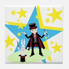 Unique Magician Tile Coaster