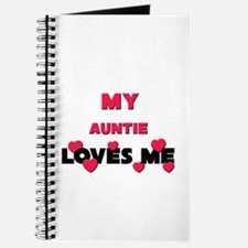 My AUNTIE Loves Me Journal