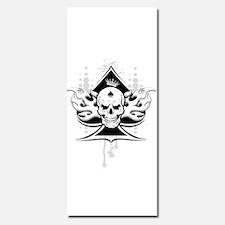 ace of spades skull Invitations