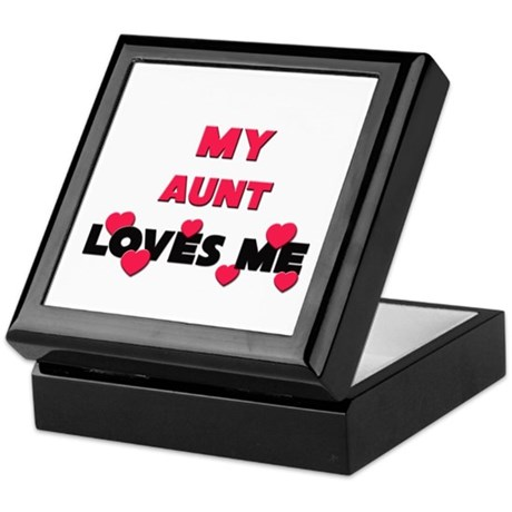 My AUNT Loves Me Keepsake Box