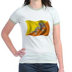Wavy Bhutan Flag T