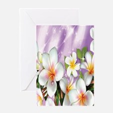 Plumeria Floral Greeting Cards