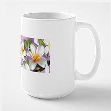 Plumeria Floral Mugs
