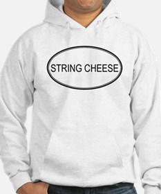 STRING CHEESE (oval) Hoodie