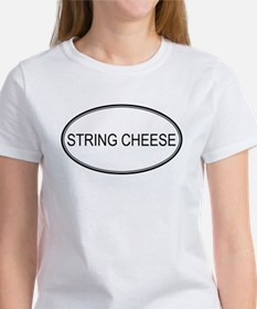 STRING CHEESE (oval) Tee