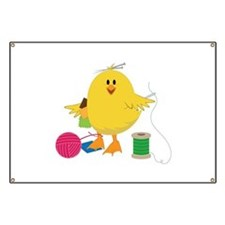 Sewing Chick Banner